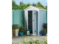 Garden Shed 4.2 x 3.4 x 6.4ft *NEW*