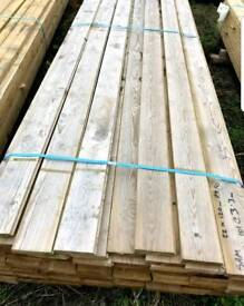 Tongue Ang groove flooring boards