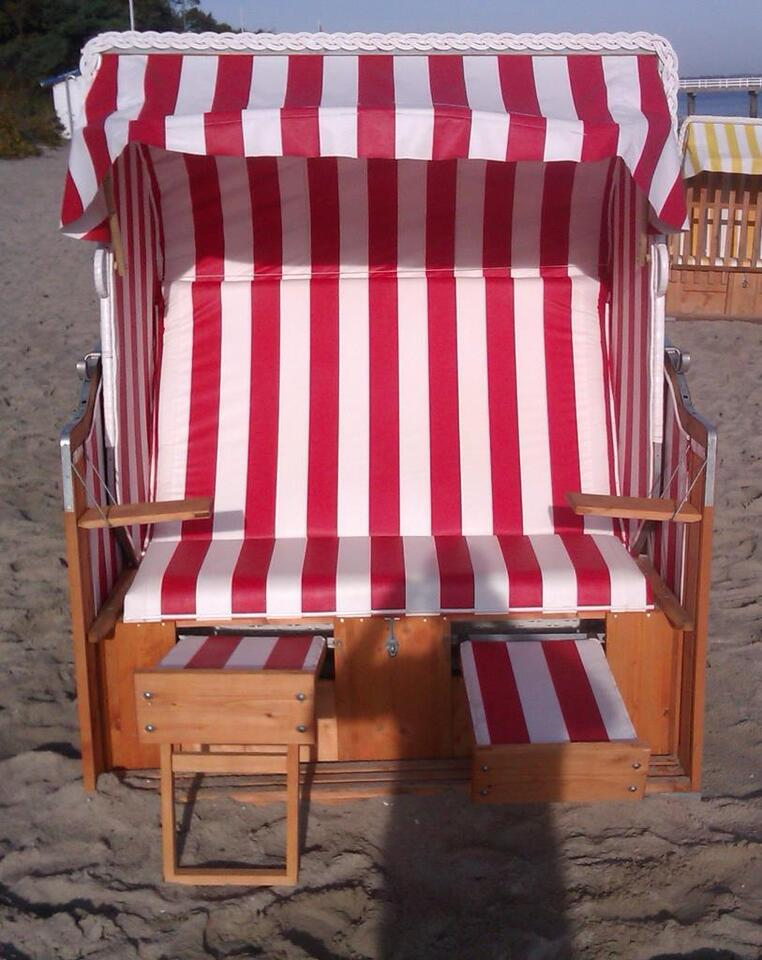 Strandkorb original Timmendorfer Strand Ostsee neu und ...