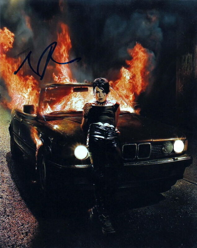 NOOMI RAPACE.. The Girl Who Played with Fire - SIGNED