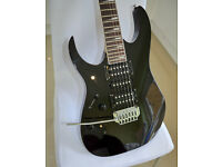Mint condition Ibanez GRG170DXL Left Handed Electric Guitar with gig bag and strap