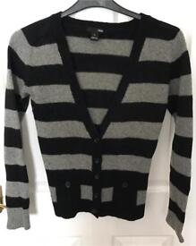 Ladies H&M Cardigan ~ Size S