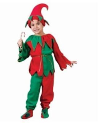 THE COMPLETE CHRISTMAS ELF CHILD COSTUME - MEDIUM 8-10