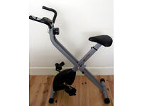 V-Fit Folding Exercise Bike