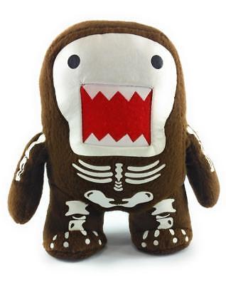 Halloween Domo Plush (Domo Kun 7 Inch Plush Doll Skeleton Qee Halloween)