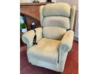 Celebrity Armchair Riser Recliner Electric Arm Chair Living Room Mobility Aid