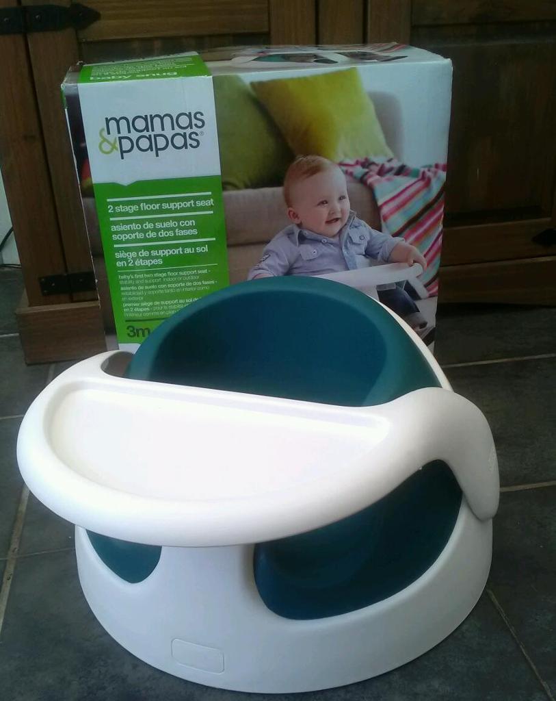 Mamas & Papas baby snug floor seat