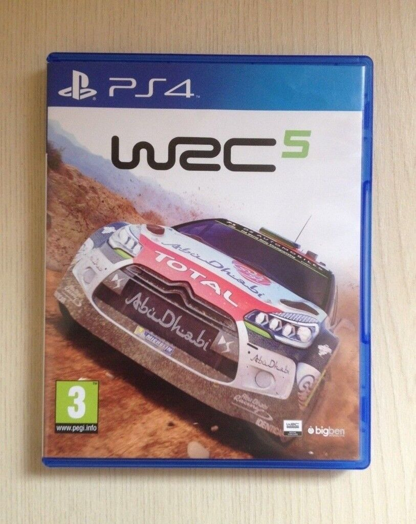 Wrc 5 Fia World Rally Championship Ps4 In Bolton Manchester Gumtree Sony 6