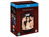 Vampire Diaries Blu Ray boxed set season 1-4 region free 30 ono