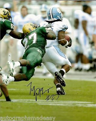 TYRONE MCKENZIE  SOUTH FLORIDA SIGNED 8X10 PHOTO W/COA (Tyrone Florida)
