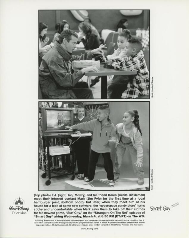 """Scenes from """"Smart Guy"""" Original TV Still"""