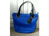 Royal Blue Large Handbag