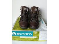 SCARPA Terra GTX Brown Leather Women Outdoor Trek Climb Mountain Walking Boot 37 4 NEW IN BOX £130