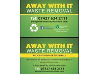 Licences household waste and rubbish clearance
