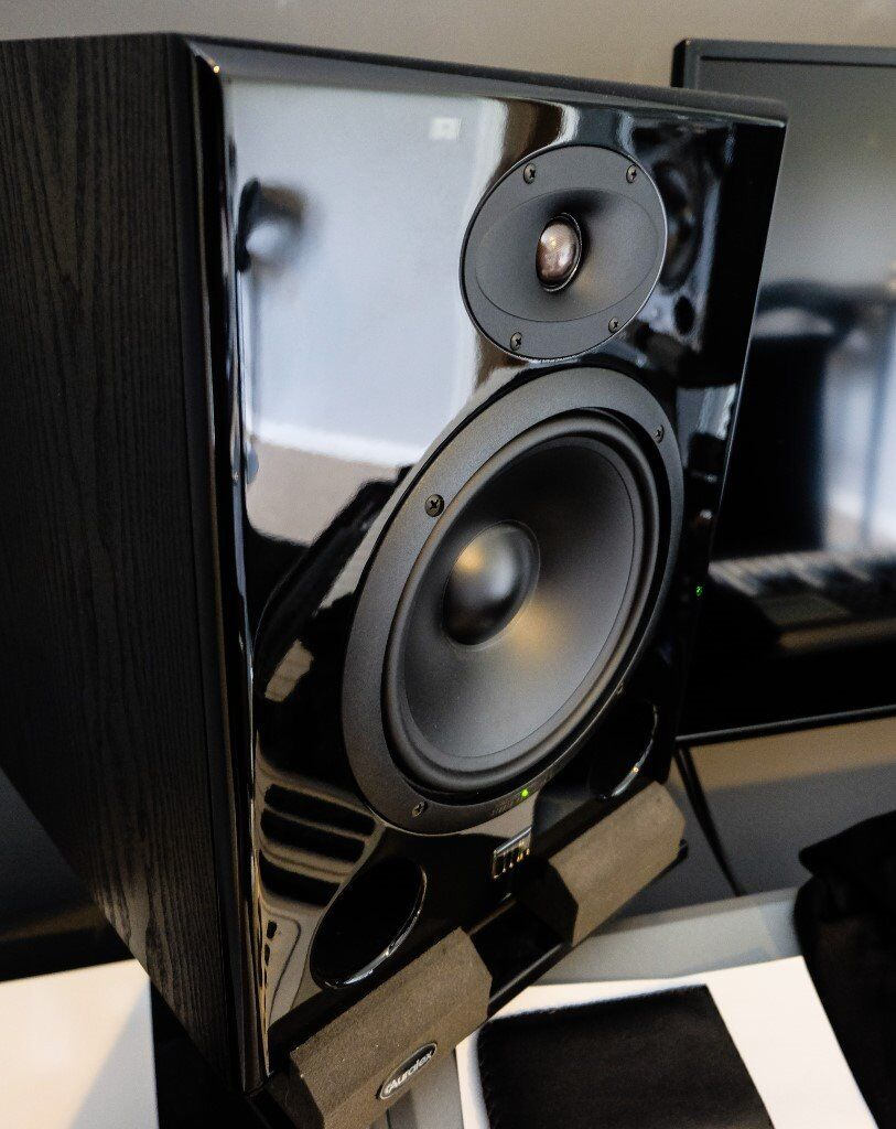 event asp8 active studio monitors significantly upgraded from stock versions in norwich. Black Bedroom Furniture Sets. Home Design Ideas