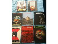 Various Guitar Tab Books- Green Day, SOAD, Metallica, The Darkness and more