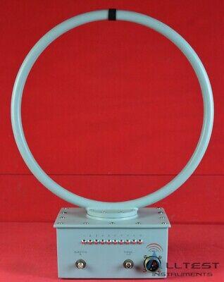 Electro-metrics Alr-30 Remote Loop Antenna 9 Khz 30 Mhz