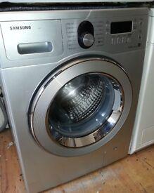 Silver Samsung Air Refresh WF8802RPZ 8kg 1200rpm Washing Machine ...