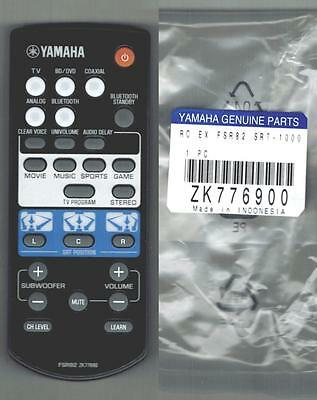 Used, New Yamaha Digital Sound Stand Projector Remote Control FSR82 ZK77690 SRT-1000 for sale  Shipping to India