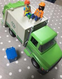 Playmobil recycling lorry