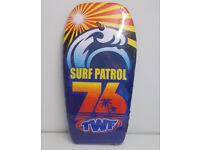 "TWF Surf Patrol 76 37"" Adult, Kids Body Board Surf Board"