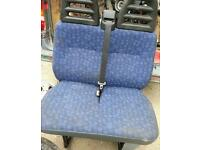 Iveco daily passenger seat. Very clean condition. NO RIPS.