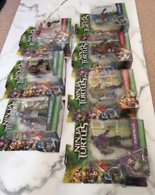 Teenage Mutant Ninja Turtles Movie action figures (Set of 7)