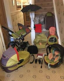 Quinny Buzz 3 Complete Travel System Limited Edition