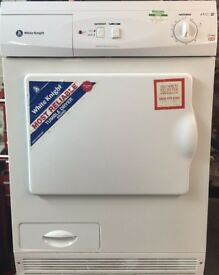 21 Whiteknight 76AWL 7kg White Condenser Tumble Dryer 1 YEAR GUARANTEE FREE DELIVERY