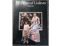 Fifty Years of Unilever (1930 - 1980) - Provenance supplied