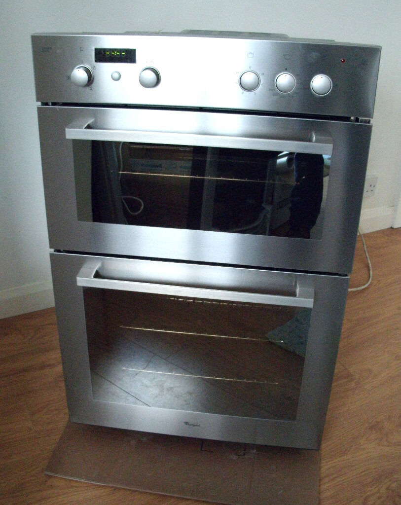 Whirlpool Stainless Steel Integrated Electric Double Oven