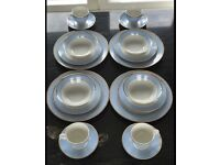 20 piece Dinner Service designed by Bruce Oldfield for Royal Doulton