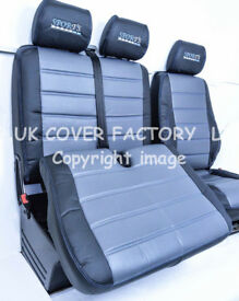 VW TRANSPORTER T5 VAN SEAT COVERS NO ARM REST