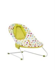 Unisex baby bouncy chair Mothercare