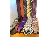 Quality neck ties.