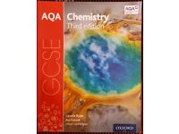 GCSE AQA 9-1 Chemistry Oxford Text Book - Book as good as new for sale