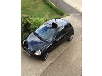 Black Ford KA luxury 2005
