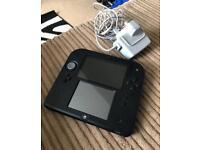 Nintendo 2DS Black / Blue (Pokemon white / Y games for extra)