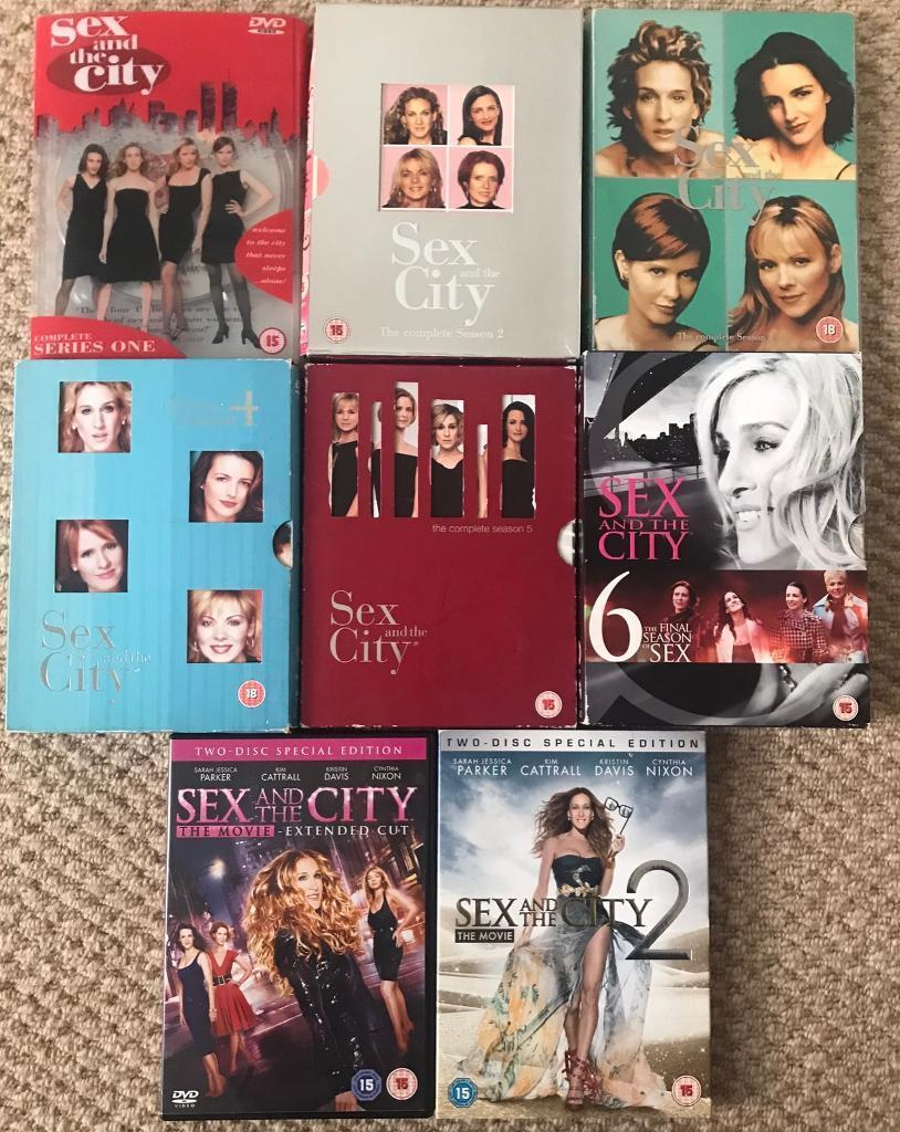Sex And The City Dvds Series And Movies In Hornsey London