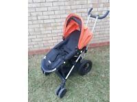 Micralite toro stroller - great for travelling.