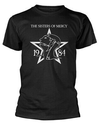 1984 Schwarzen T-shirt (The Sisters Of Mercy '1984' (Schwarz) T-Shirt - NEU & OFFIZIELL!)