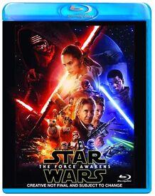 Star Wars Force Awakens Blu Ray Film NEW SEALED!