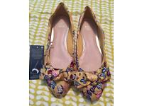 Brand new M&S extra wide fit shoes size 8