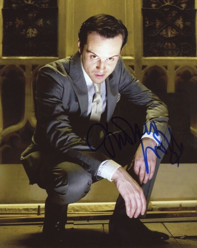 "Andrew Scott ""Sherlock"" AUTOGRAPH Signed 8x10 Photo G ACOA"