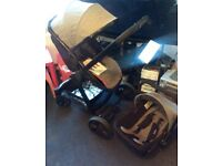 Travel system. Inc. stroller, car seat. Immaculate condition. Parent/forward facing. From birth