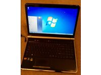 "Packard bell easy note laptop 15.6"" screen 250gb Hdd 2gb Ram £65"