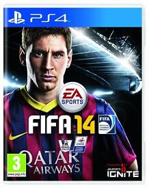 PS4 FIFA 14 GREAT CONDITION