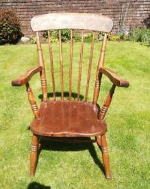 19th Century Antique Windsor Farmhouse Chair