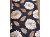 New floral curtain 181 cm x 168 cm