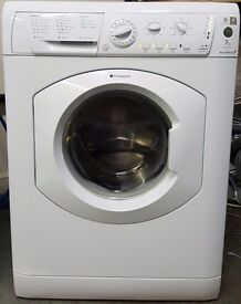 HOTPOINT 7KG WASHING MACHINE - 1200 SPIN - WHITE - RECONDITIONED - GUARANTEED